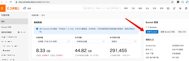 本站付费WordPress主题之阿里云OSS对象储存配置教程